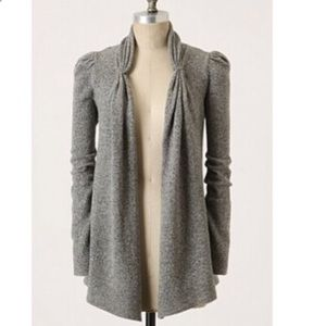 Anthropologie wool cardigan, small
